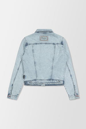 Philipp Plein Denim Jacket Crystal Multicolour