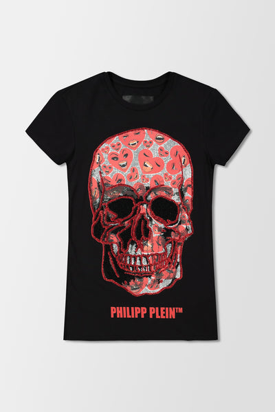 Philipp Plein T-Shirt Skull Black