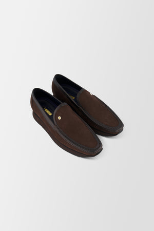 Zilli Nabuk Graine Shoes Brown