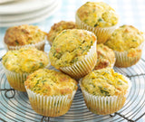 Warm Stilton and Watercress Muffins