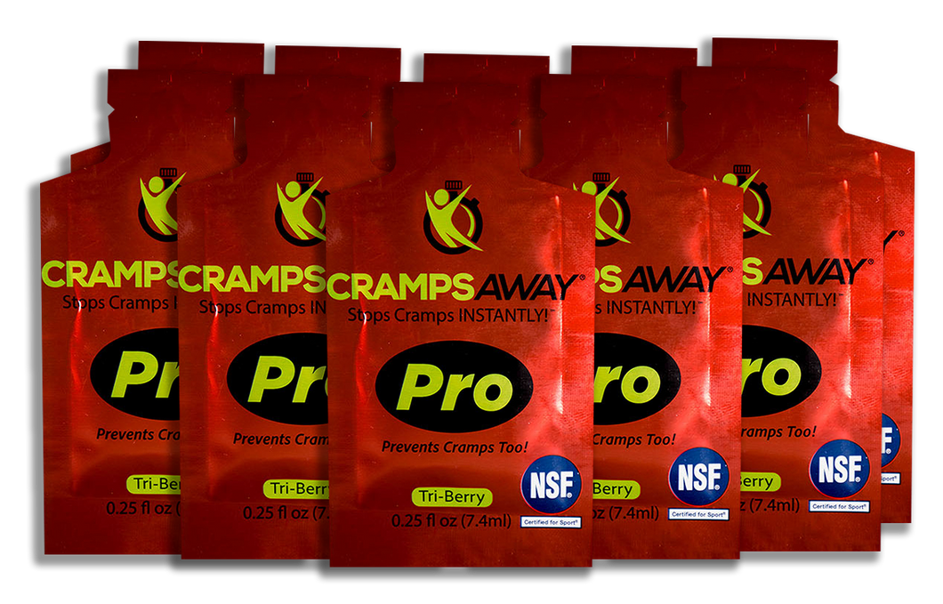 CrampsAWAY Pro 10 Pack  (College Intro Offer)