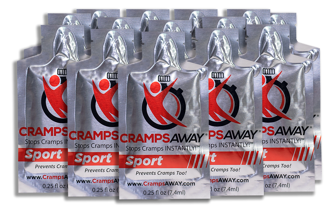 CrampsAWAY Sport 20 Pack ($2.00 each- Save $30)