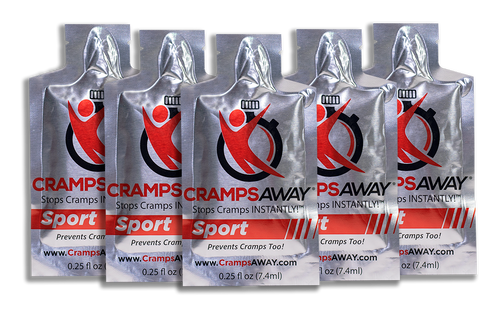 CrampsAWAY 5 Pack ($3.00 each- Save $5)