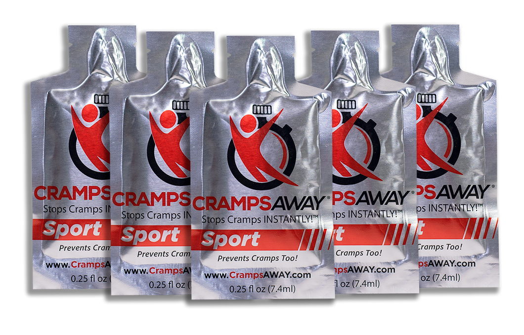 CrampsAWAY Sport 5 Pack ($3.00 each- Save $5)