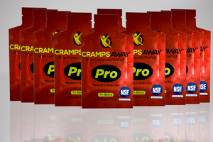 CrampsAWAY Pro 10 Pack NCAA Tennis Exclusive