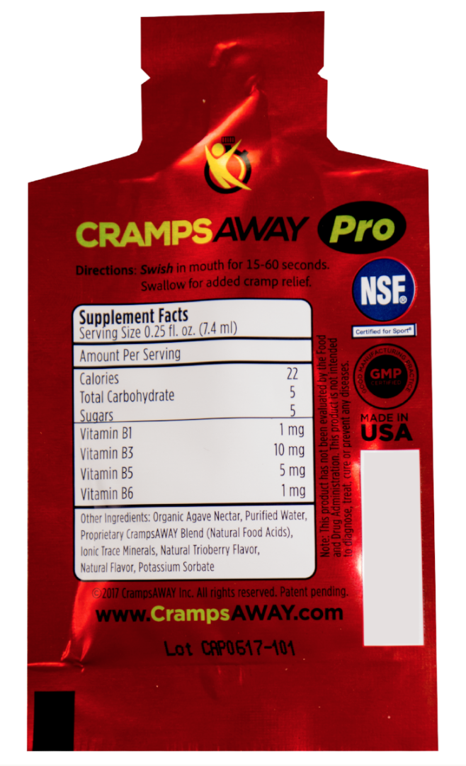 CrampsAWAY Pro Sample 3 Pack for Teams
