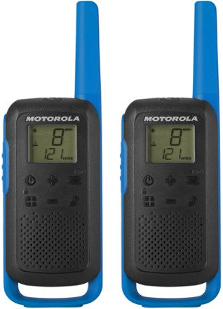Motorola T270 Rechargeable Two-Way Radios (Dual Pack)