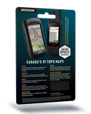 NEW - Backroad Mapbooks GPS Maps - SD Card Manitoba V2020