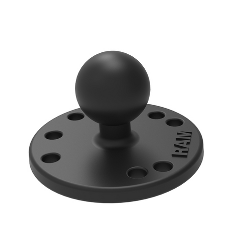 "RAM® Round Plate with 1"" Ball"