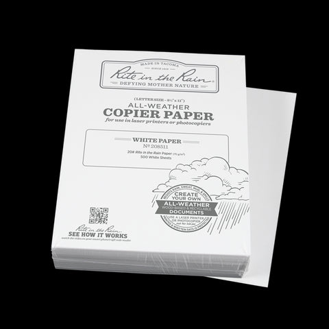 Rite in the Rain Printer/Copier Paper - Bulk (500 sheets) (#208511)