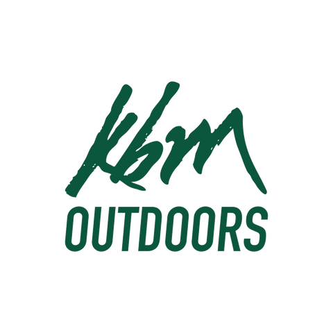 KBM Outdoors Logo Vinyl Sticker