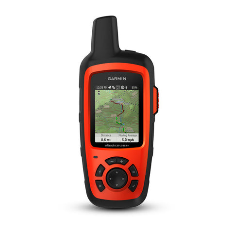 Garmin inReach Explorer+ Satellite Communicator with Maps and Sensors (010-01735-10)