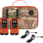 Motorola T265 Rechargeable Two-Way Radios Sportsman Edition (Dual Pack With Accessories)