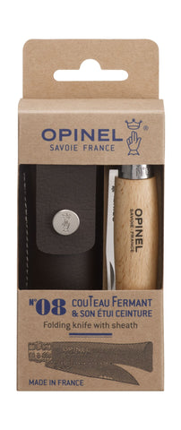 Opinel No. 8 + Sheath