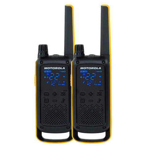 Motorola T470 Rechargeable Two-Way Radios (Dual Pack)