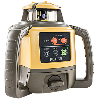 RLH5A-DB (Alkaline) - Next Generation Self-Leveling Construction Laser