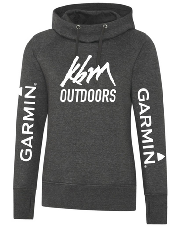 OUR BRANDED Two Tone Hoodie - GARMIN/KBM Apparel
