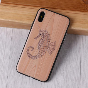 Imitative Wood Relief Elephone Vintage Style Phone Case - MoniiGarmenx