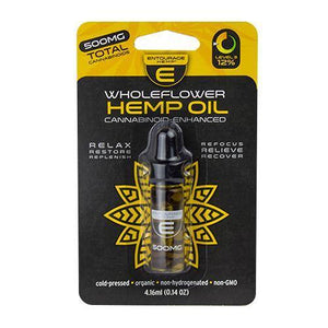 Entourage Hemp WholeFlower CBD Tincture -500mg/1000mg - MoniiGarmenx