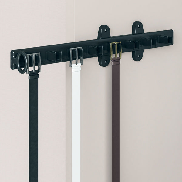 Premio-Side Pull Out Belt Rack for 8 Belts - Häfele Home Malaysia