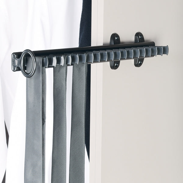 Premio-Side Pull Out Tie Rack for 19 Ties - Häfele Home Malaysia