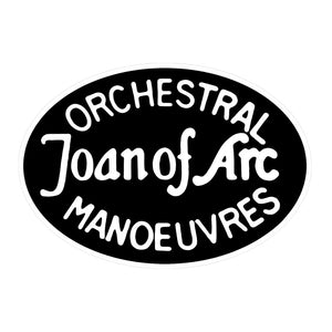 Joan of Arc - Enamel Badge
