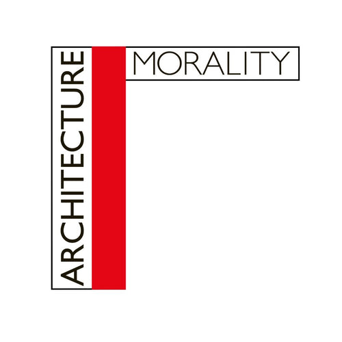 Architecture & Morality - Enamel Badge