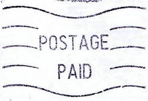 Extra Postage Cost