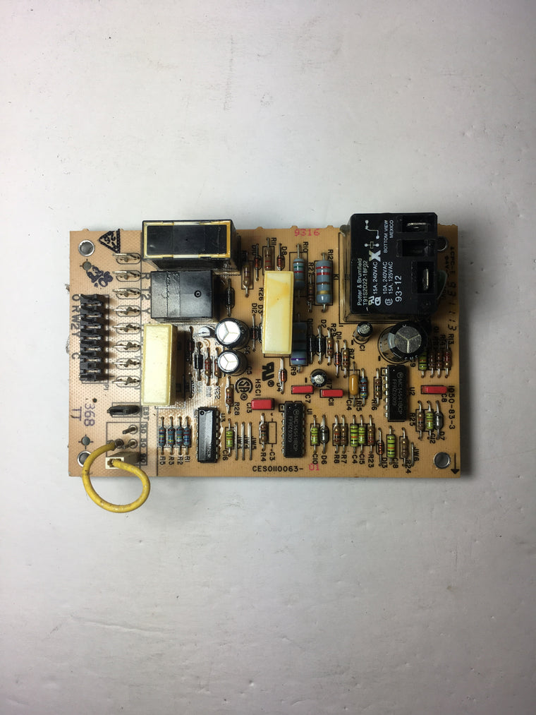 Carrier CES0110063-02 Defrost Control Board