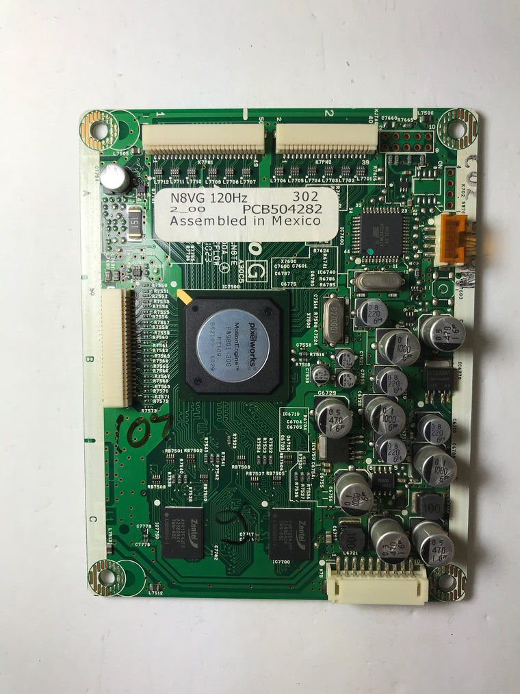 Sanyo 1AAB10N2500A N8VG PC Board
