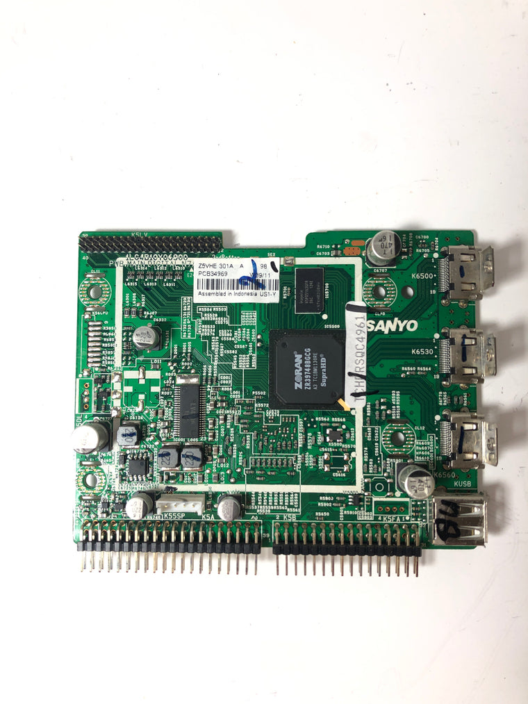 Sanyo 1LG4B10Y06900 Z5VHE Digital Main Board for DP42841 P42841-03
