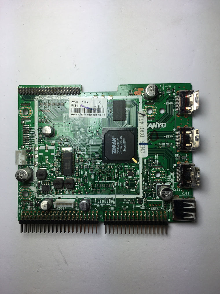 Sanyo 1LG4B10Y06900 Z5VH Digital Main Board for DP42841 P42841-01