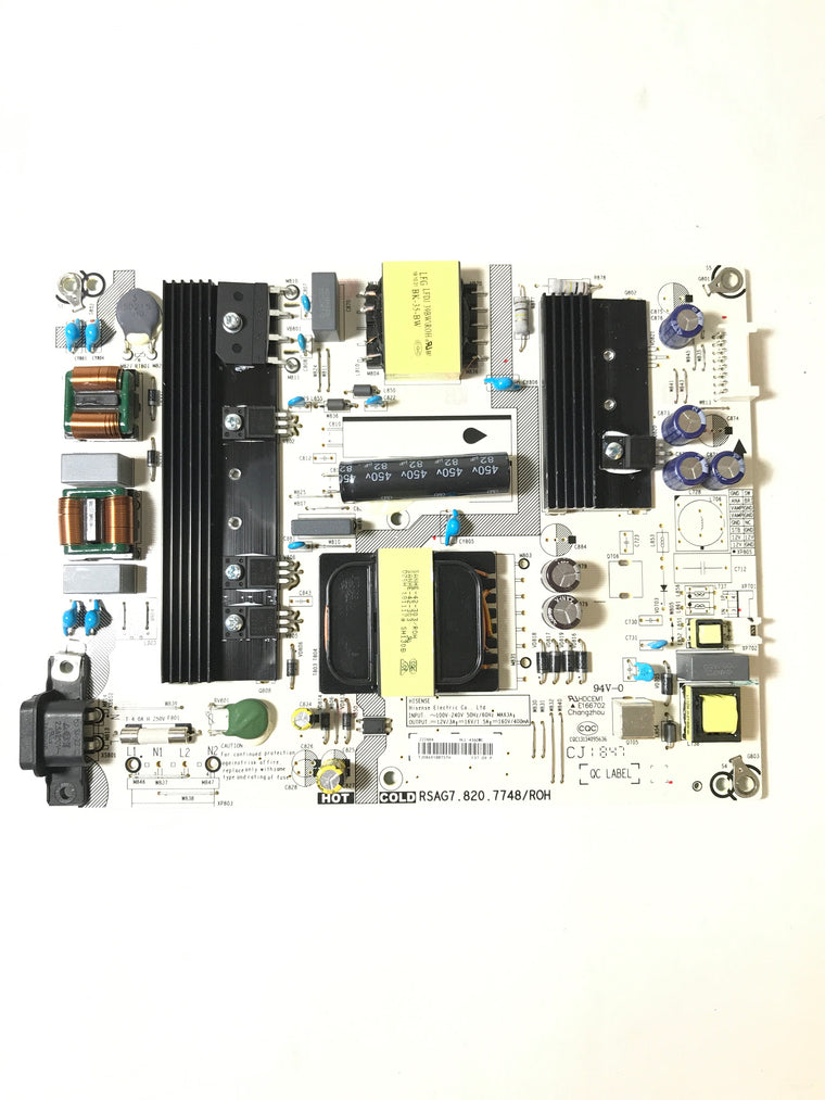 Hisense 222684 Power Supply / LED Board