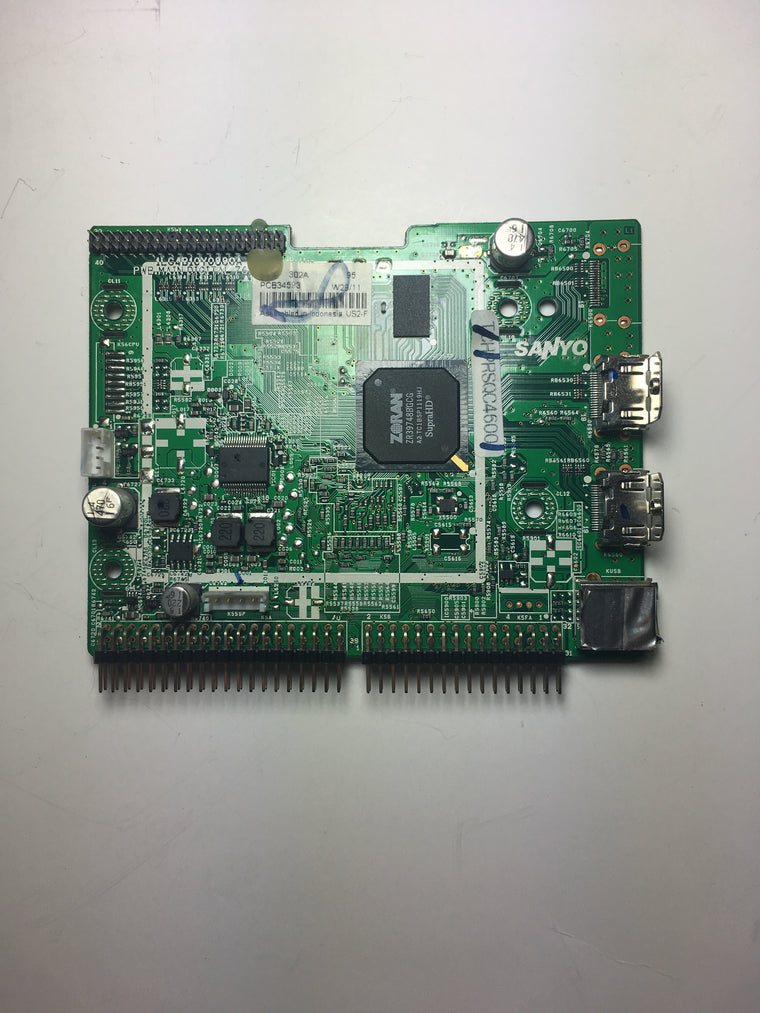 Sanyo 1LG0B10Y08300 (Z6JE) Digital Board for DP26640
