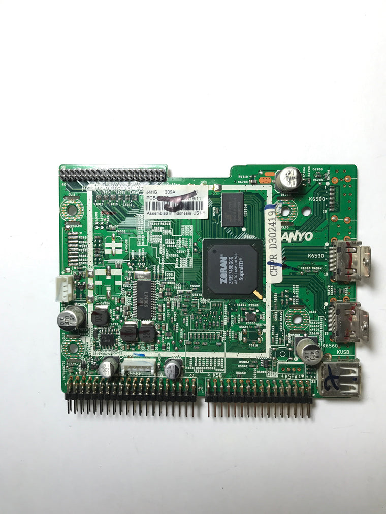 Sanyo 1LG4B10Y06900 J4HG Digital Main Board (Interchangeable with J4HF) for DP42740-04