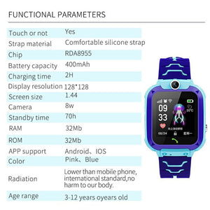 Children Smart Watch