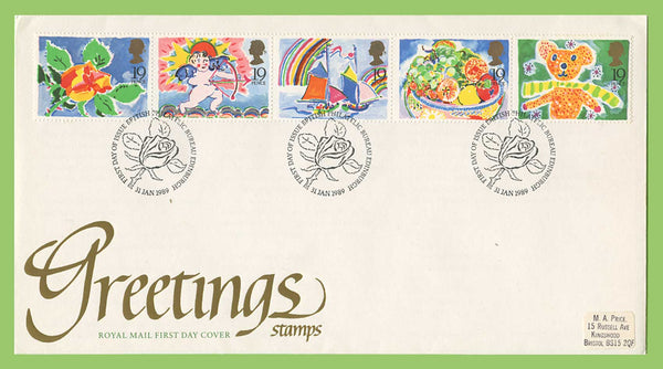 Gb 1989 greetings set on royal mail first day cover bureau gb 1989 greetings set on royal mail first day cover bureau coversoftheworld m4hsunfo