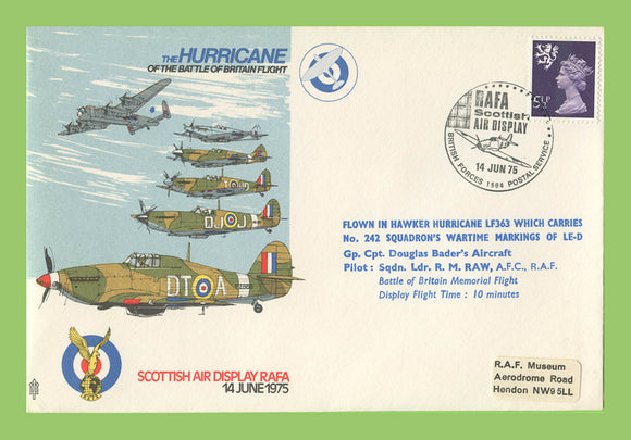 G.B. 1975 The Hurrican in the Battle of Britain , RAF flown cover