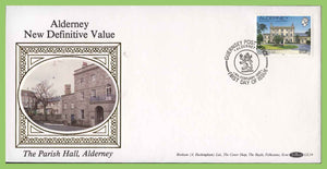 Alderney 1992 23p definitive on First Day Cover