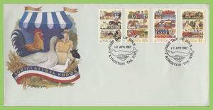 Australia 1987 Agricultural Shows set on First Day Cover