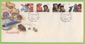Australia 1987Aussi Kids set on First Day Cover