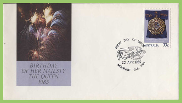 Australia 1985 QEII Birthday Issue First Day Cover