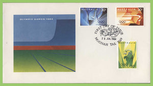 Australia 1984 Olympic Games set on First Day Cover