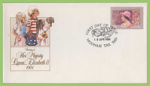 Australia 1984 QEII Birthday issue on First Day Cover