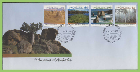 Australia 1988 Panorama of Australia set on First Day Cover