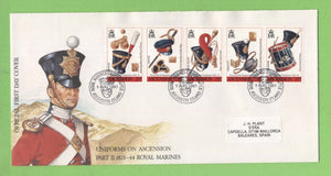 Ascension 1991 Royal Marines Equipment set First Day Cover