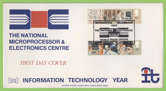 G.B. 1982 Information Technology official Havering First Day Cover London E1