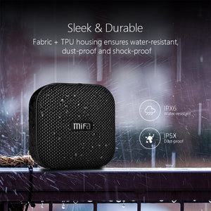 Waterproof Mini Portable Stereo Speaker