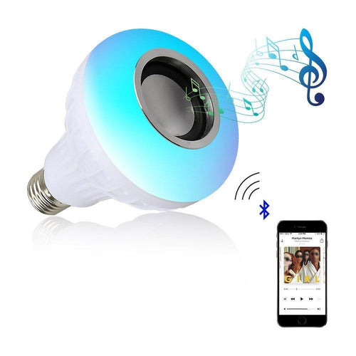 Wireless RGB Bulb Speaker