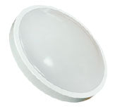 11-inch LED Flush Mount (White Rim)